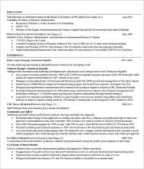 Mba Graduate Resume Sample download mba resume template haadyaooverbayresort com