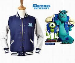 monsters university varsity jacket blue size costume cosplay