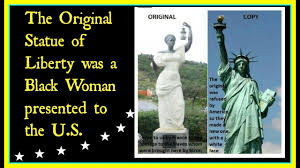 review the original statue of liberty