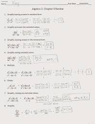 Aa Step 4 Worksheet 7 Steps To Writing Algebra Answers