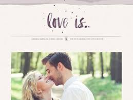 the best wedding websites free premium wedding websites ewedding