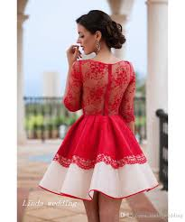 red lace cocktail dresses vosoi com