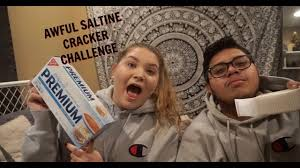 Challenge Ace Family Awful Saltine Cracker Challenge Vlogmas Day 13 We Challenge