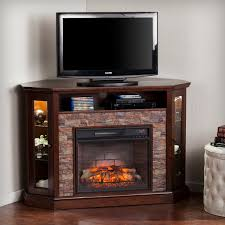 Electric Media Fireplace Redden Corner Convertible Infrared Electric Media Fireplace