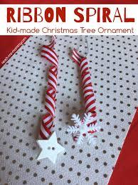 ribbon spiral christmas tree ornament teach me mommy