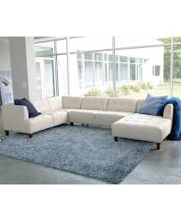 Martino Leather Sectional Sofa Macys Leather Sofa With Chaise Best Home Furniture Decoration
