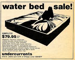 go retro one of those 70s things waterbeds