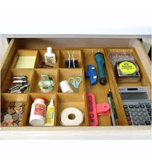Expandable Desk Drawer Organizer This Expandable Junk Drawer Organizer Makes It Easy To Keep Any