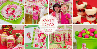strawberry shortcake party supplies clever design strawberry shortcake party ideas birthday