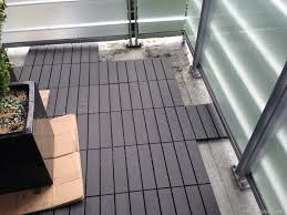 Patio Tile Flooring by From Drab To Fab A Patio Floor Transformation 30 Day Adventures
