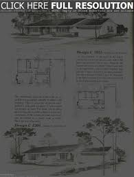 mid century home plans vintage house plans 1960s homes mid century bright floor plan for