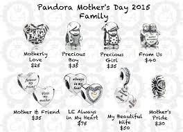 s day charms pandora mothers day charm