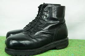 womens boots vibram sole vintage 90s combat boots vibram sole steel toe size 10 us