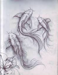 koi fish sketch szukaj w google art references pinterest