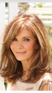 hair style for thick hair for 40s image result for textured medium long layers side bangs hair