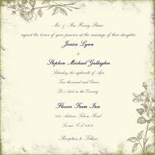 wedding invitation language sle wedding invitation language sle wedding