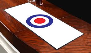 mod target white bar runner great for home bar shop cocktail party
