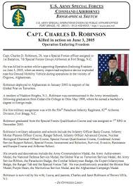capt charles d robinson nj run for the fallen september 26th