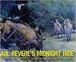paul revere s ride book paul revere s midnight ride stephen krensky greg harlin