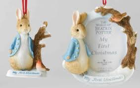 beatrix potter rabbit s hanging ornament and