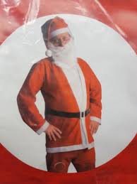 tesco santa claus father christmas suit costume ebay