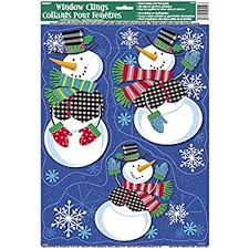 Amazon Uk Christmas Window Decorations by Santa Christmas Window Decoration Amazon Co Uk Kitchen U0026 Home