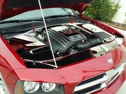 dodge charger car accessories dodge magnum stainless engine accessories