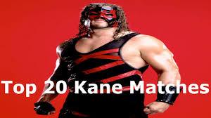 Kane Halloween Costume Wwe 20 Kane Matches