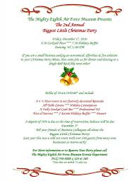 sample of invitation letter for christmas party mickey mouse
