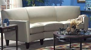 Leather Conversation Sofa Lucas Braden Leather Sofa 3966 31 Sofas From Flexsteel At