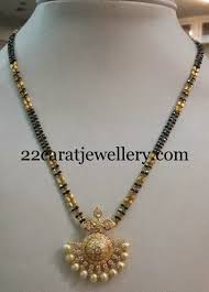 black cz necklace black and indian jewelry