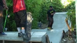 Santa Cruz Backyard DIY Concrete Skate Contraptions YouTube - Backyard skatepark designs