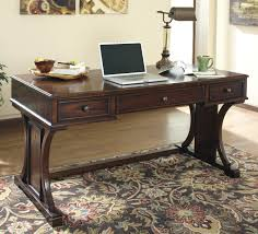 Home Office Furniture Desks by Signature Design By Ashley Devrik Home Office Desk With Drop Down