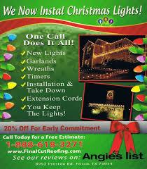 season shocking lights install image concept