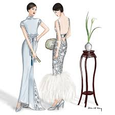 chanel 2017 couture fashion illustration by draw a story