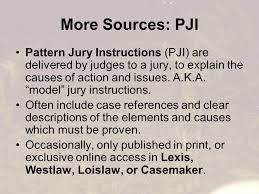 ny pattern jury instructions lexis you want me to research what getting background keeping