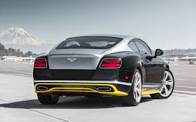 bentley continental 2016 black bentley continental gt rear view sports car wallpaper wallpapersbyte