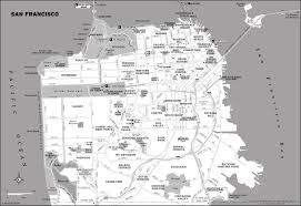 Usa Map Black And White by San Francisco Map Black And White Maps Of Usa