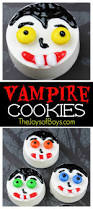 fun these vampire cookies are