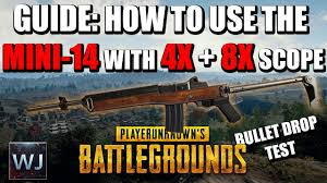 pubg 8x scope range guide how to use the mini 14 with the 4x 8x scope in