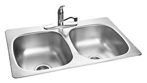 home depot double stainless steel sink kindred stainless steel double kitchen sink with faucet and bottom