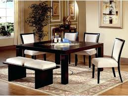 oak square dining table for 8 fjord a compact dining table large