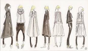 fashion sketchbook knitwear design collection line up fashion