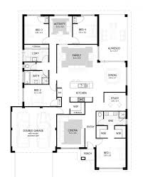 one story modern house plans bedroom connery home design indian