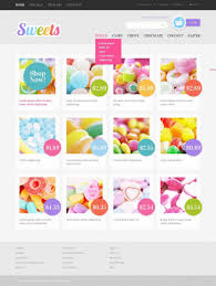 8 best sweet shop website templates u0026 themes free u0026 premium