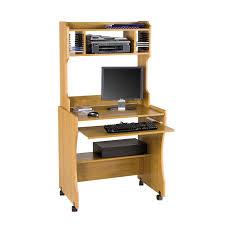Narrow Computer Desk With Hutch Computer Desk Design Interior Design