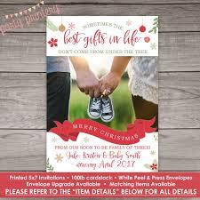 christmas pregnancy announcement pregnancy announcement wording best 25 christmas card