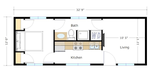 400 square foot 400 square foot skyline by zip kit homes square feet zip and squares