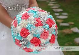 silk ribbon roses online shop diy brooch bouquet silk bridal wedding bouquet