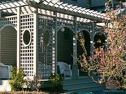 Arch Trellis Fence Panels Wood Fence Custom Specialties Colonial Fence Co Norfolk Ma
